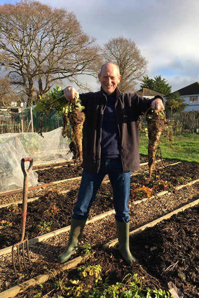 sow parsnips this month for Christmas dinner
